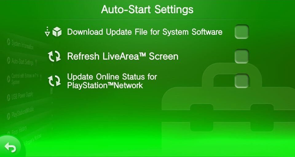 vita disable auto update henkaku