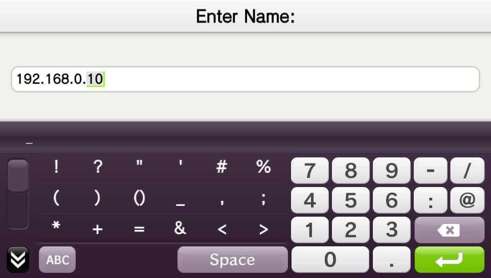 moonlight vita enter ip address add device