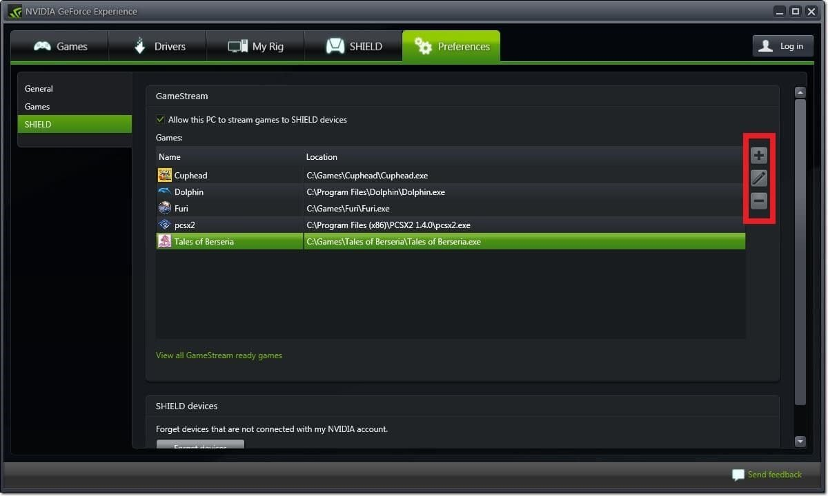 moonlight nvidia gamestream geforce experience games