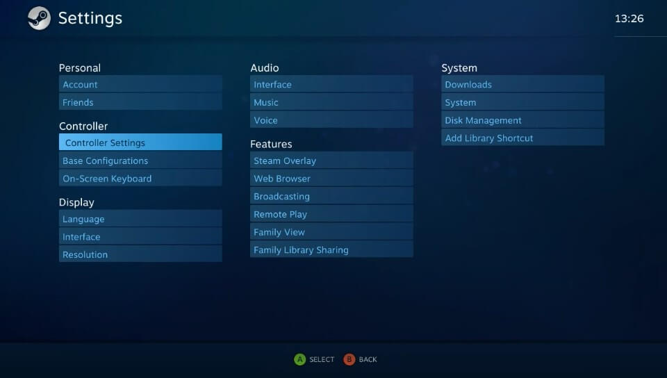 vita moonlight steam picture controller settings