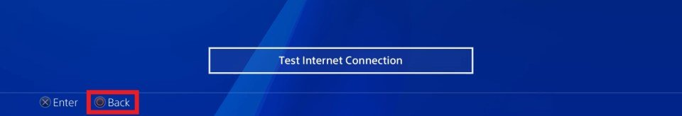 ps4 5.05 dns test internet connection