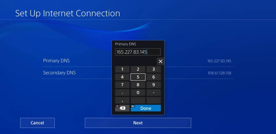 ps4 5.05 jailbreak primary secondary dns