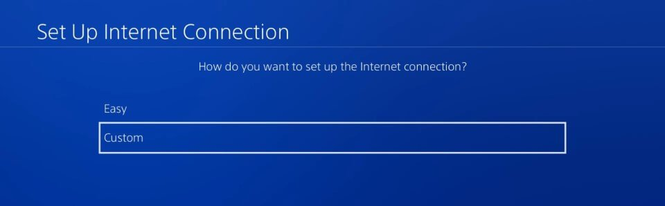 ps4 5.05 hen setup custom internet connection
