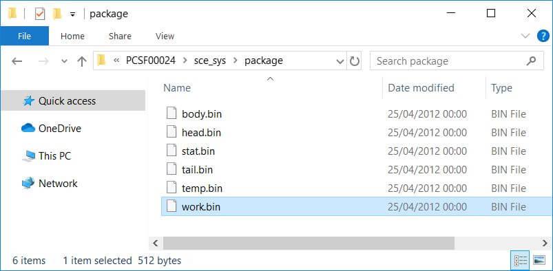 vita nonpdrm create backups work.bin 6488b73b912a753a492e2714e9b38bc7 .rif