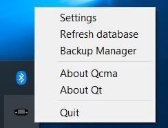 qcma refresh database