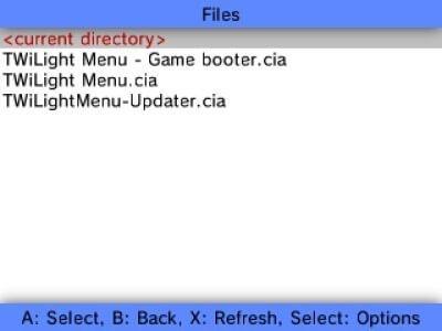 3ds fbi install twilight menu cia
