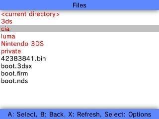 3ds fbi sd cia folder
