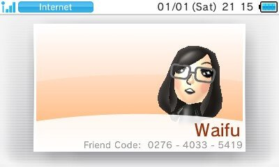 3ds friend code movable