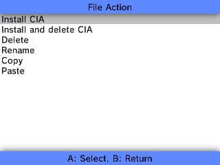 3ds install cia fbi