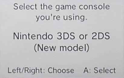 3ds twilight menu choose console