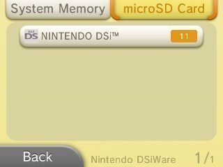 ds connection settings restore dsiware