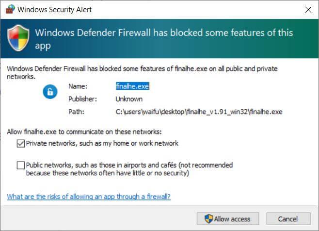 finalhe firewall