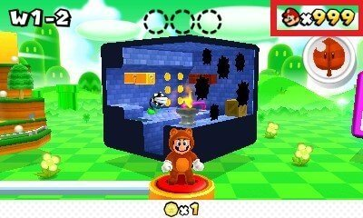 luma3ds cheats checkpoint mario 3d land 999