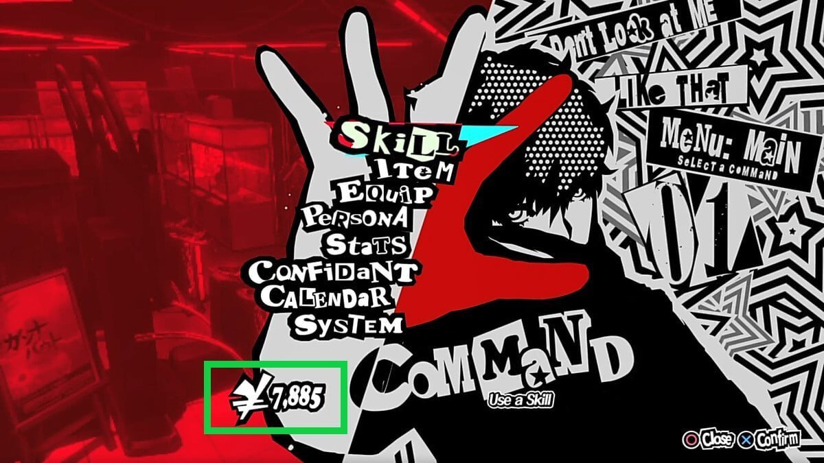 persona 5 ps4 cheater