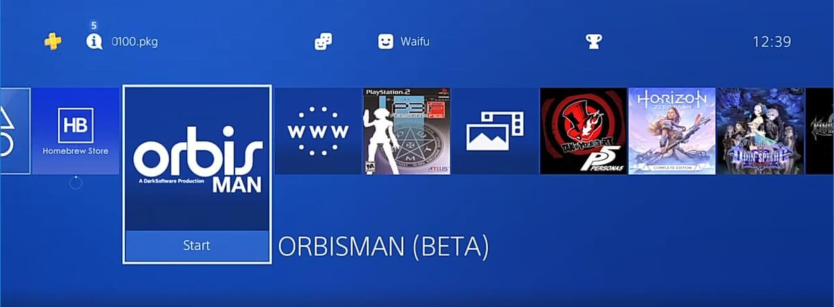 ps4 homebrew store orbisman