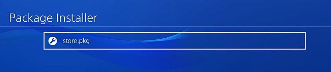 ps4 homebrew store package installer 505