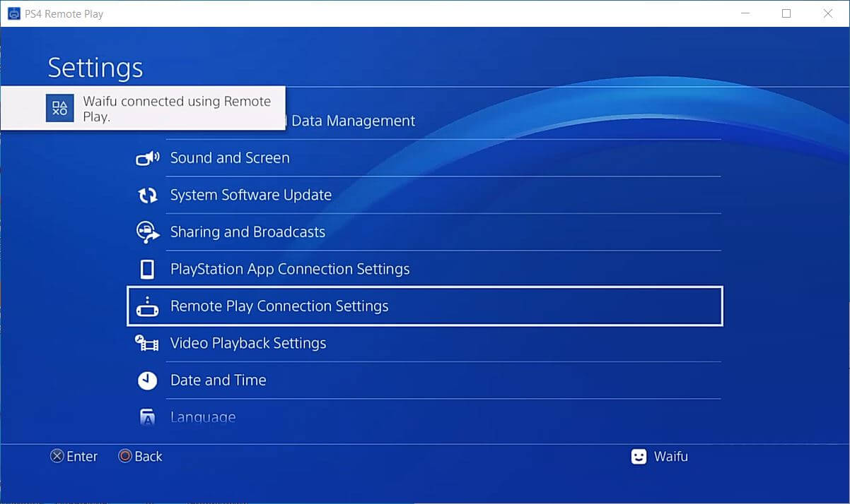 ps4 offline remote play connect