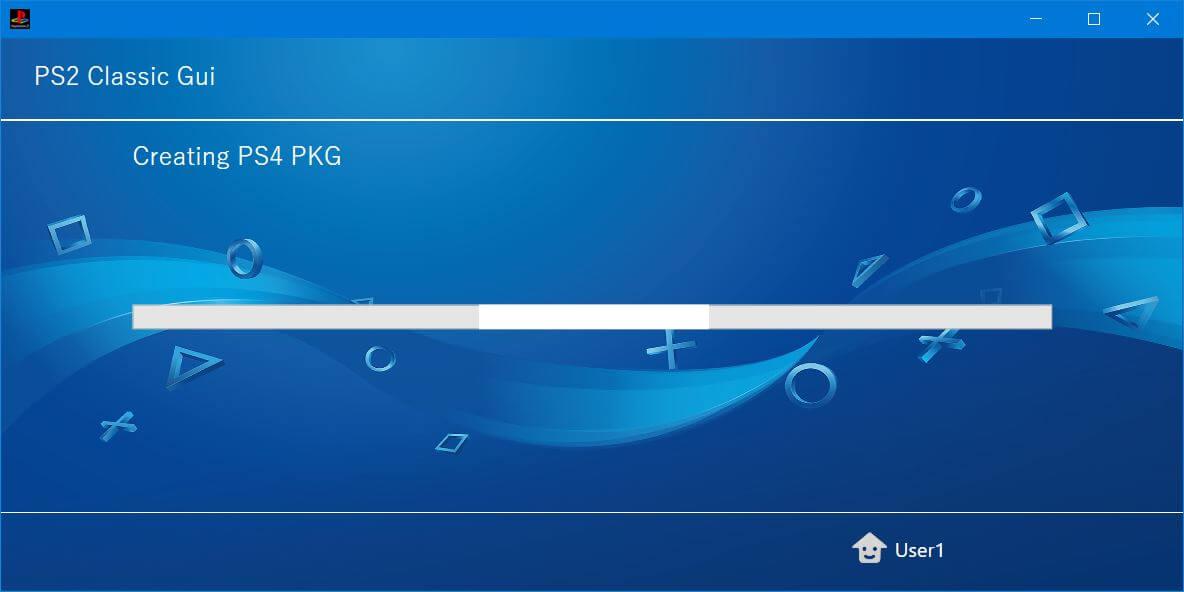 ps4 ps2 classics gui creating pkg