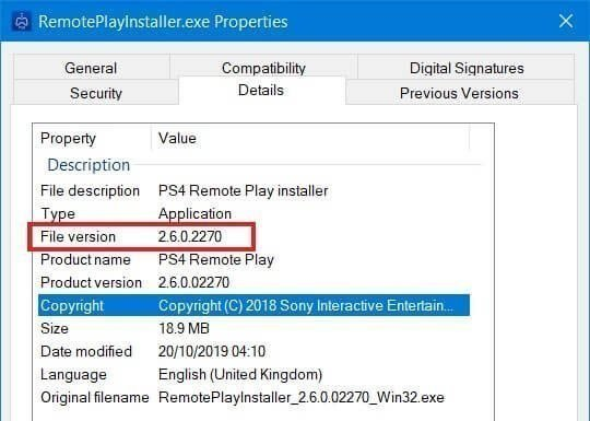 ps4 remoteplayinstaller old version 2.6.0.2270