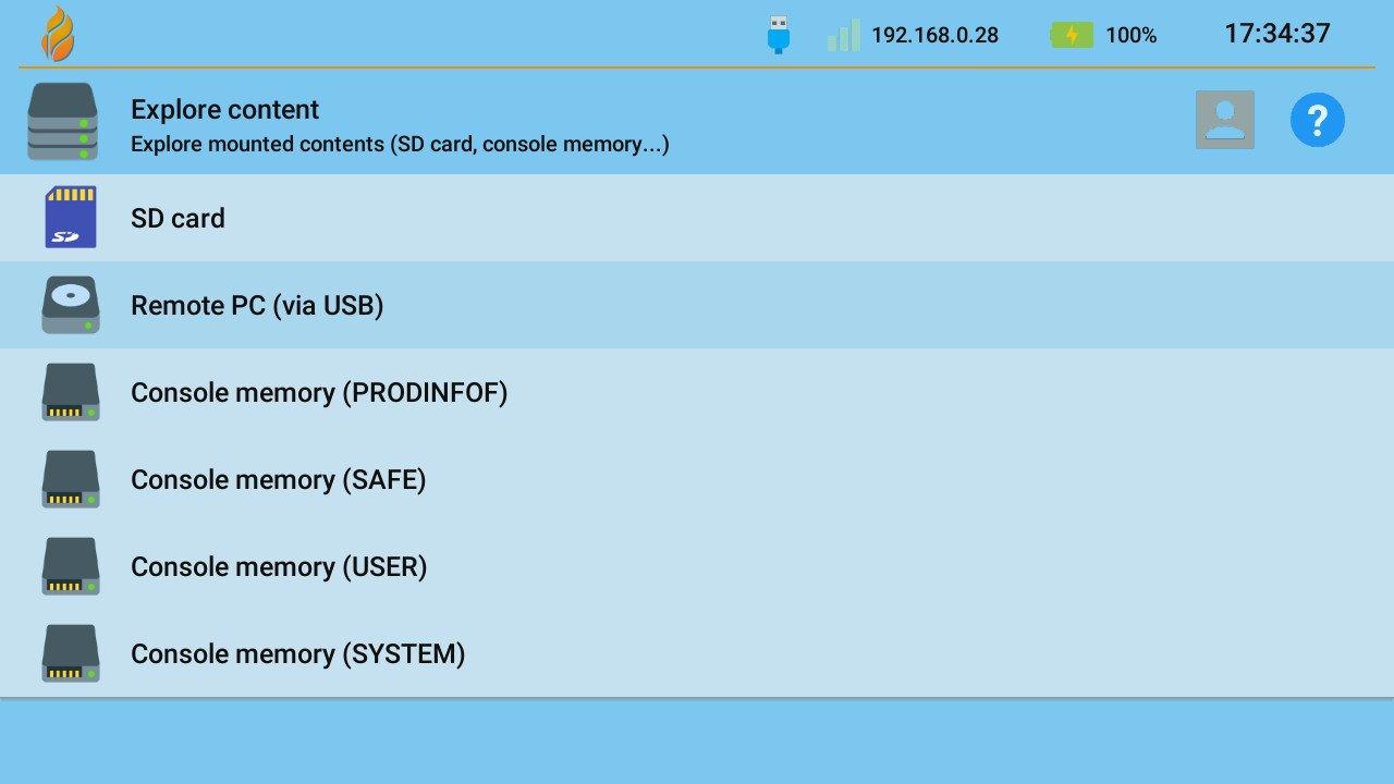 goldleaf switch quark remote pc via usb nsp