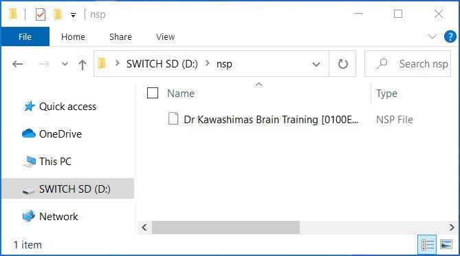 goldleaf switch sd nsp file