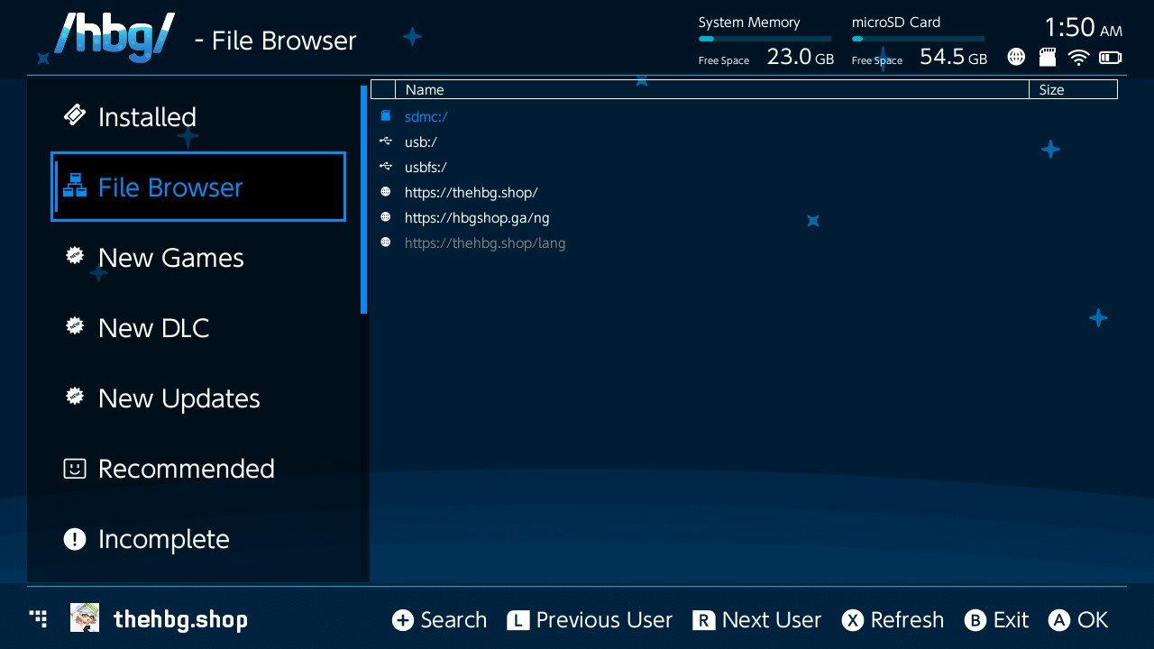hbg shop tinfoil switch file browser