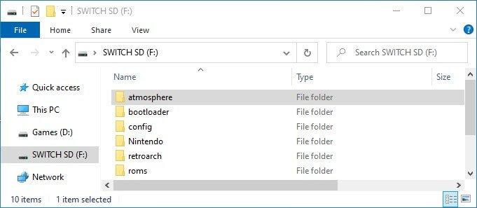 switch atmosphere folder nx-ovlloader
