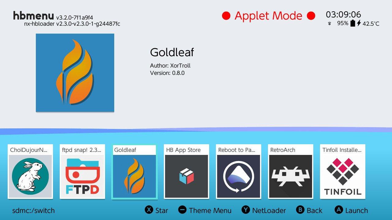 switch atmosphere goldleaf hb menu