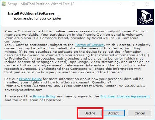 switch emunand disk management minitool partition no adware