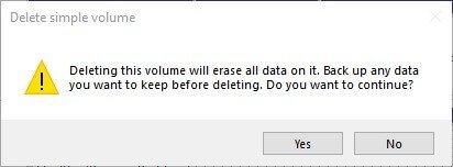 switch emunand disk management partition windows sd delete volume
