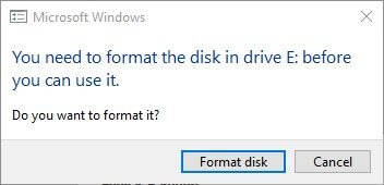 switch emunand disk management partition windows sd do not format cancel
