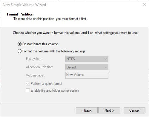 switch emunand disk management partition windows sd do not format