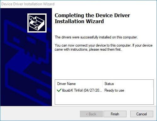 switch tinfoil nut usb driver install