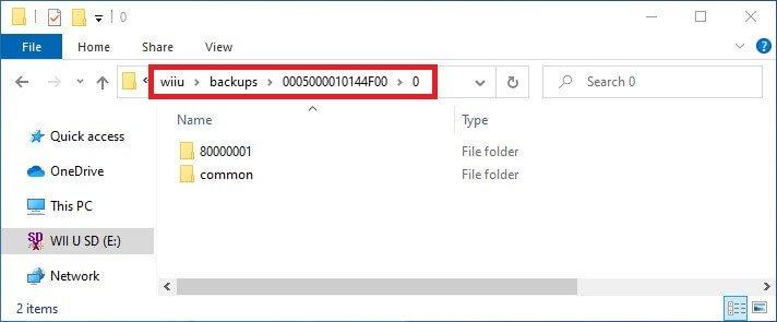 wii u savemii import save file titleid common