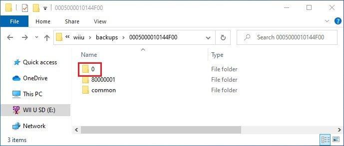 wii u savemii import save file titleid
