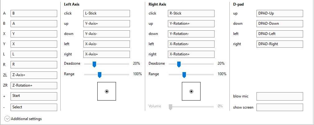 cemu install configure controller input map buttons xbox 360