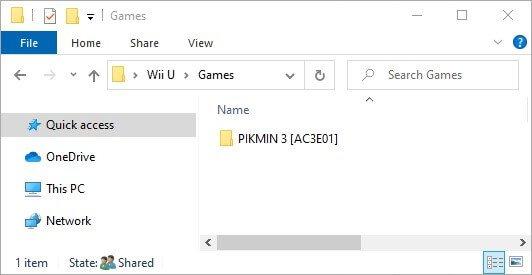 cemu install games folder