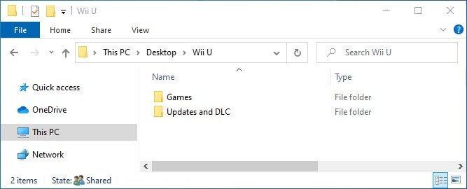 cemu install games updates folder