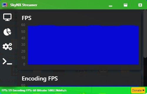 skynx fps encoding fps stats