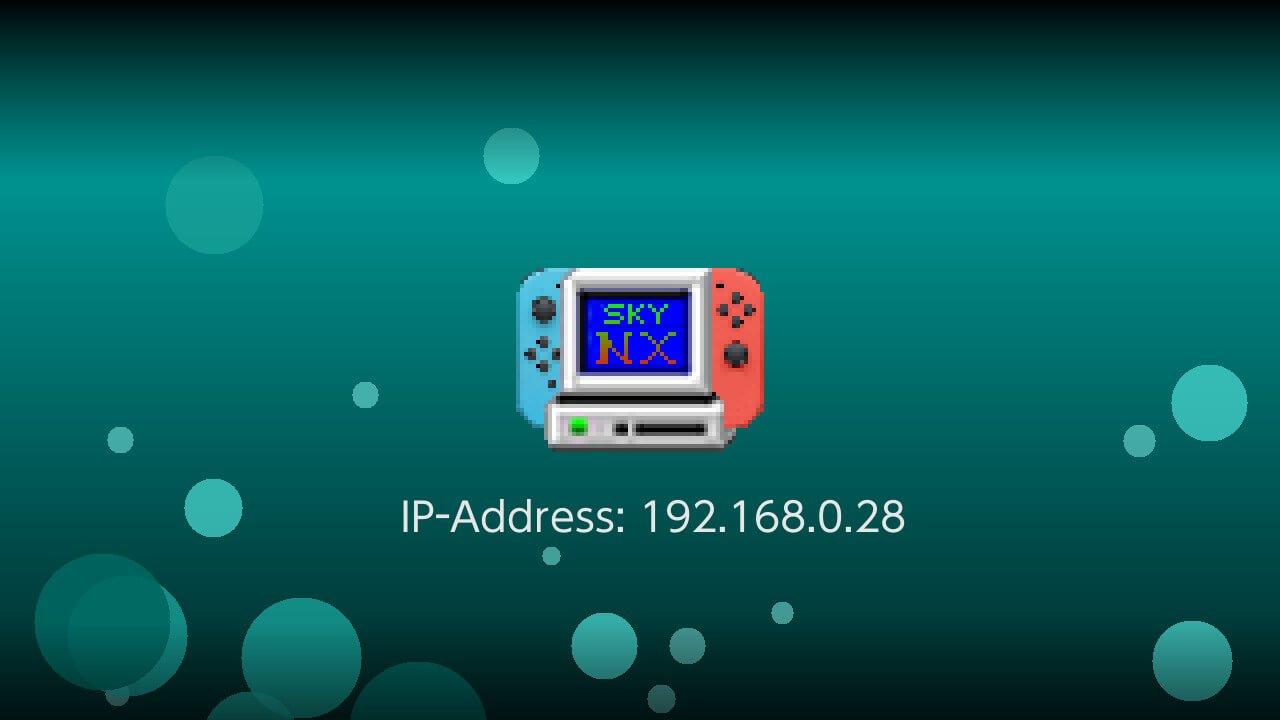 switch skynx ip address stream