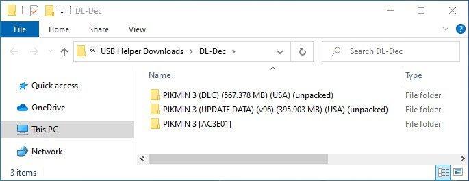 wii u usb helper download complete unpack loadiine folder