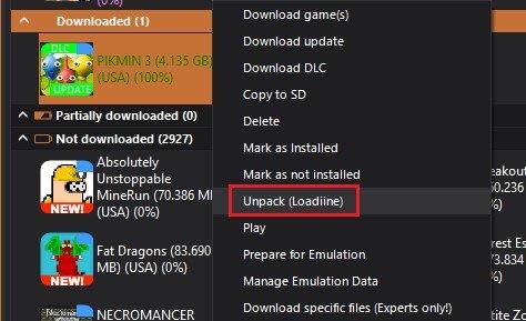 wii u usb helper download complete unpack loadiine