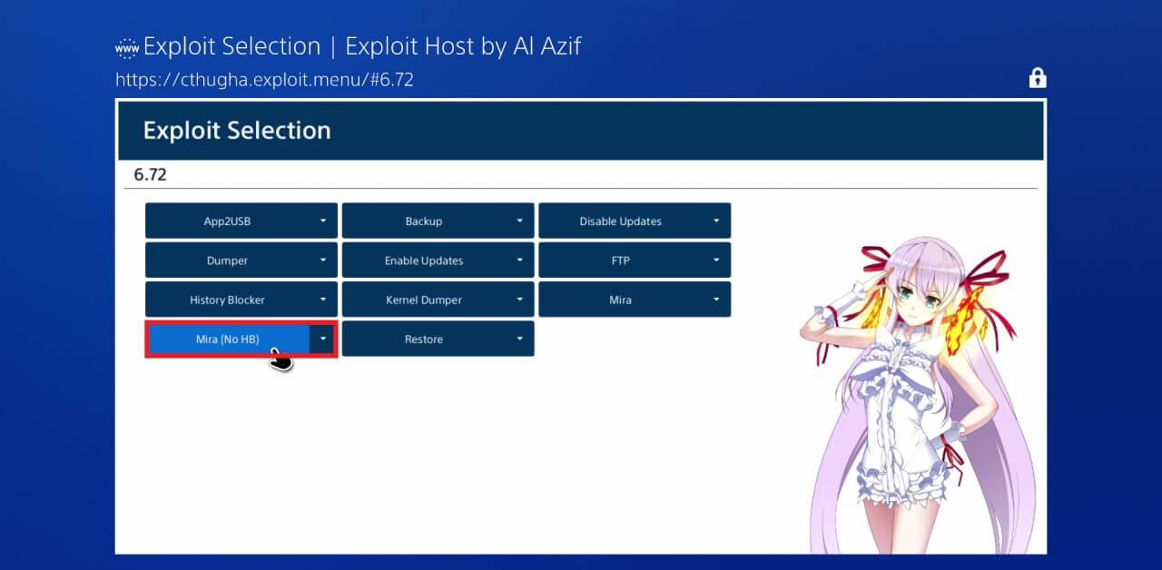 ps4 672 exploit jailbreak mira no hb al azif