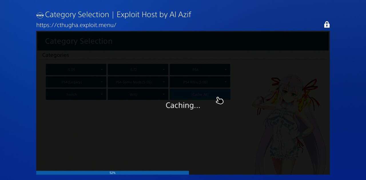 ps4 672 exploit jailbreak offline caching al azif